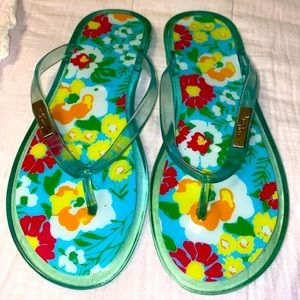 Lilly Pulitzer Jelly Flip-Flops